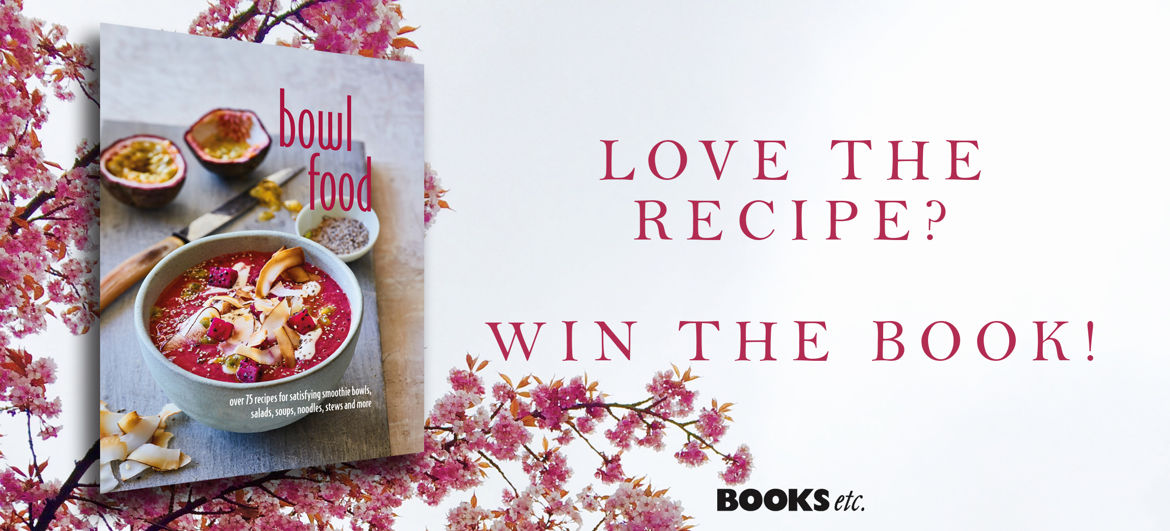 Win a copy of bowl food books etc blog this month weve chosen a delicious recipe thats easy to make and full of fresh wholesome ingredients sesame coated tofu with adzuki beans forumfinder Choice Image