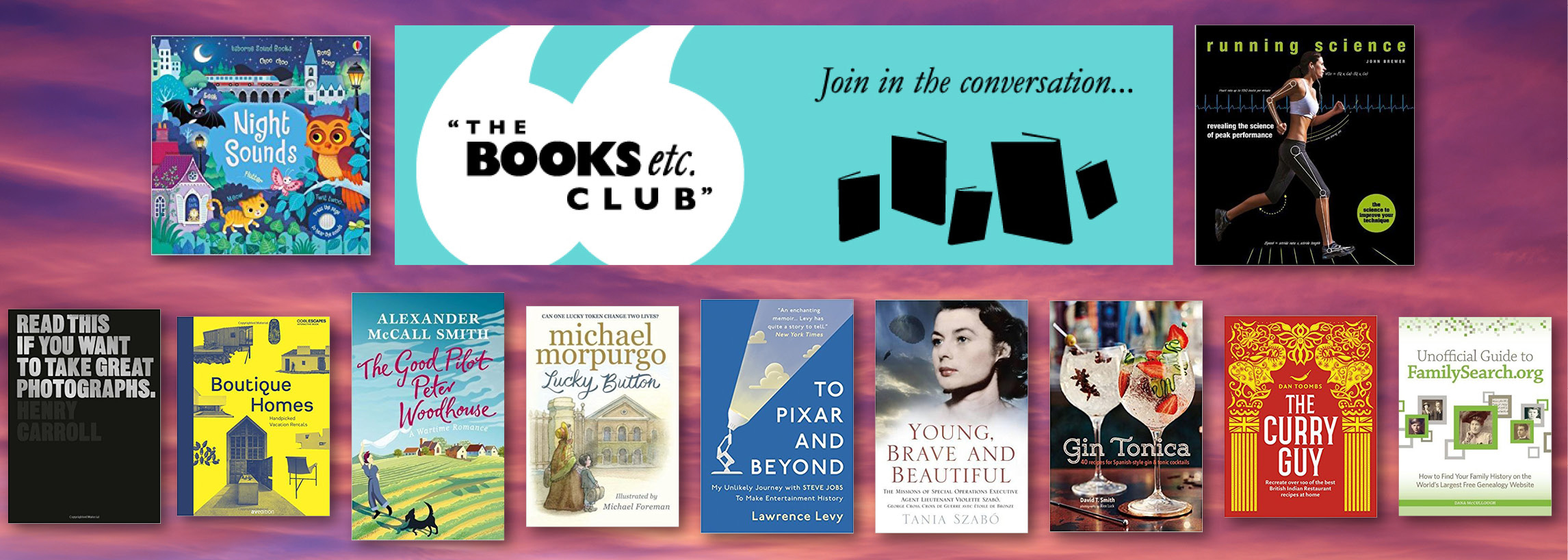 Take A Look At Our Book Club For January 2018 Books Etc Blog