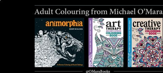 Fantastic Prices On The Best Adult Colouring Books From Michael OMara BOOKS Etc
